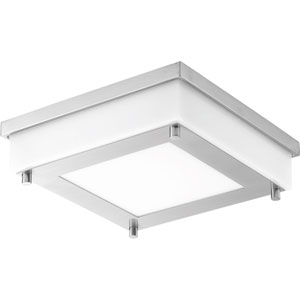 P560001-135-30: Anson Stainless Steel Energy Star One-Light LED Flush Mount