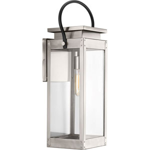 P560006-135: Union Square Stainless Steel One-Light Outdoor Wall Mount