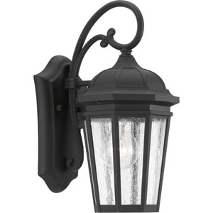 P560014-031: Verdae Black One-Light Outdoor Wall Mount