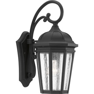 P560015-031: Verdae Black One-Light Outdoor Wall Mount