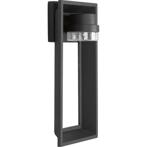 P560029-031-30: Z-1010 Black Energy Star One-Light LED Outdoor Wall Mount