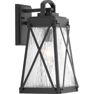 P560032-031: Creighton Black One-Light Outdoor Wall Mount