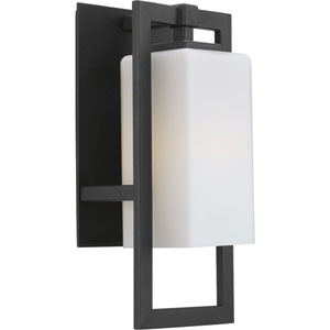 P5948-31: Jack Black One-Light Outdoor Wall Mount