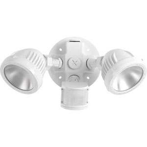 P6341-2830K: Security Bright White Two-Light LED Outdoor Flood Light