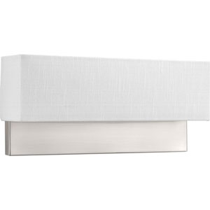 P710011-009-30: Brushed Nickel Energy Star Two-Light LED Wall Sconce