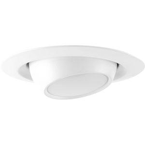 P8046-28-30K: LED Recessed Satin White Energy Star One-Light LED Recessed Light