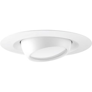 P8076-28-30K: LED Recessed Satin White Energy Star One-Light LED Recessed Light