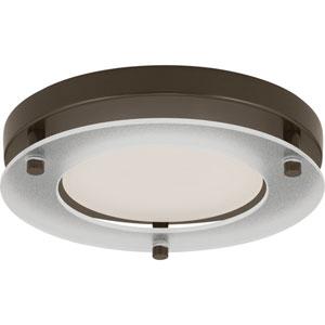 P8147-20-30K: Antique Bronze Energy Star One-Light LED Flush Mount