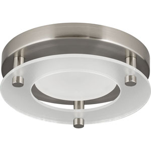 P8247-09-30K: Brushed Nickel Energy Star One-Light LED Flush Mount