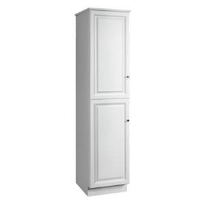 Wyndham 84 X 21 Inch Linen Cabinet White