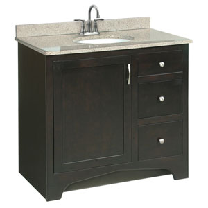 Ventura 36 X 21 Inch Two-Drawer Vanity