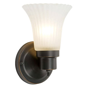 The Village Oil Rubbed Bronze Single-Light Wall Sconce
