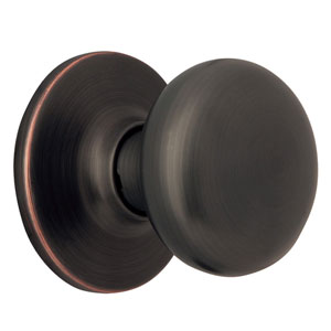 Cambridge Oil Rubbed Bronze Two-Way Dummy Door Knob