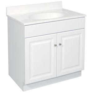 Wyndham 30 X 18 Inch White Vanity