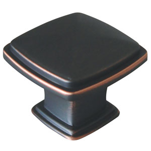 Oil Rubbed Bronze Park Avenue Cabinet or Drawer Knob