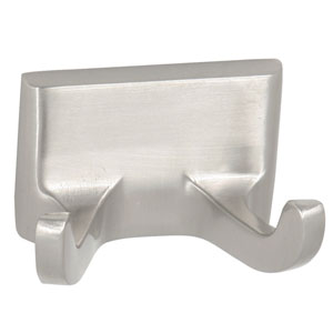 Millbridge Satin Nickel Double Robe Hook