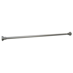 Satin Nickel Adjustable Shower Rod