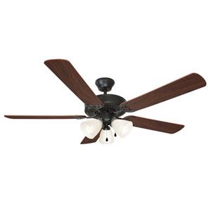Millbridge 52-Inch Oil Rubbed Bronze Energy Star Five-Blade Ceiling Fan