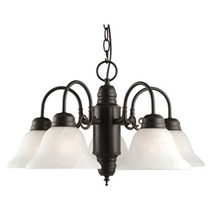 Millbridge Oil Rubbed Bronze Five-Light Chandelier