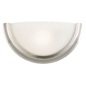 Fairfax Satin Nickel Single-Light Wall Sconce