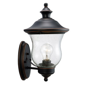 Highland Oil Rubbed Bronze Outdoor Uplight Wall Mount