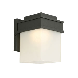 Bayfield LED Outdoor Wall Light Black