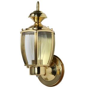 Jackson Polished Brass Outdoor Uplight