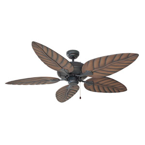 Martinique Oil Rubbed Bronze 52-Inch Indoor/Outdoor Ceiling Fan