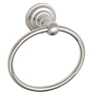 Calisto Satin Nickel Towel Ring