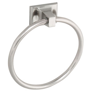 Millbridge Satin Nickel Towel Ring