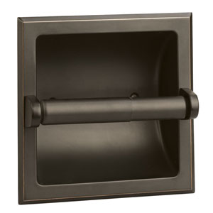 Millbridge Oil Rubbed Bronze Recessed Toilet Paper Holder