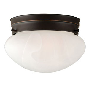 Millbridge Oil Rubbed Bronze Single-Light Ceiling Mount