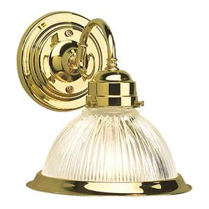 Millbridge Polished Brass Single-Light Wall Sconce