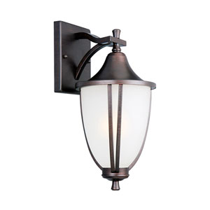 Ironwood Brushed Bronze Outdoor Downlight Wall Light