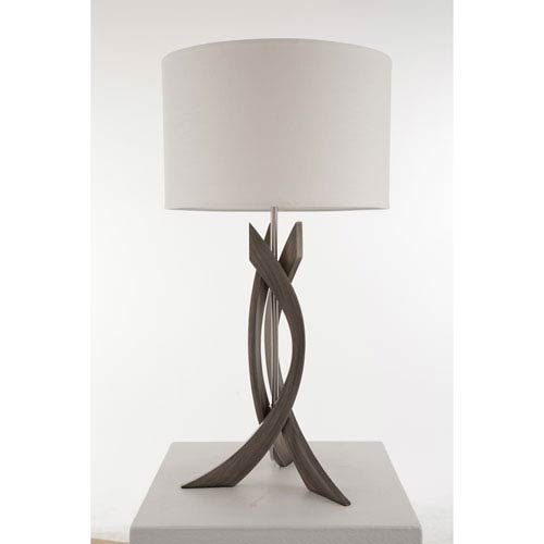 Trensa Ash Gray One-Light Table Lamp