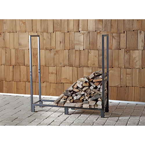 4-Foot Firewood Rack
