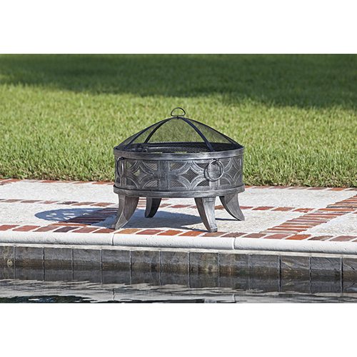 Well Traveled Living Firenzo Round Fire Pit