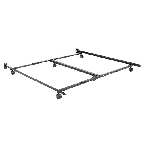 Fashion Bed Group Adjustable TK46R-LP Twin/California King Low Profile Bed Frame with Keyhole Cross Arms and Six 2 In.