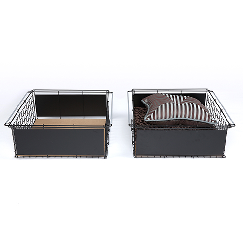 Fashion Bed Group Atlas Metal Slide-Out Drawer for Bed Base Support System, Set of Two