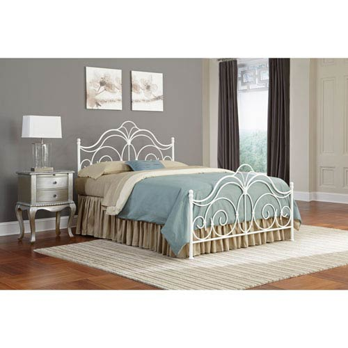 Rhapsody Glossy White Queen Bed