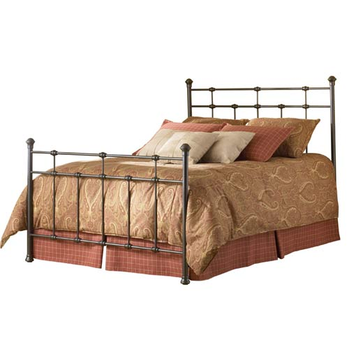 Fashion Bed Group Dexter Hammered Brown Twin Bed Frame