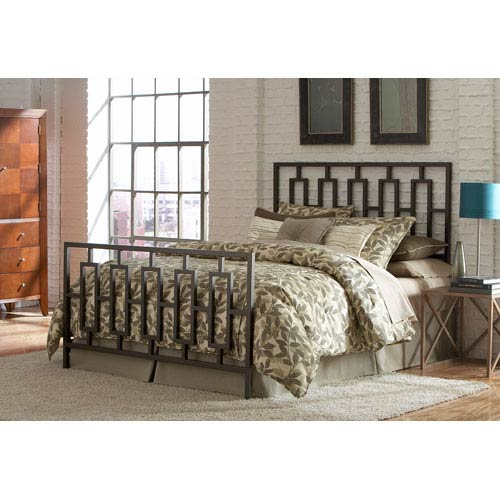 Fashion Bed Group Miami Coffee Queen Bed