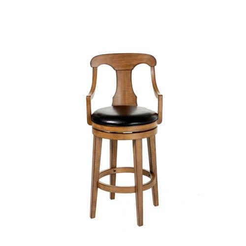 international concepts copenhagen 24 inch unfinished wood swivel bar stool 285 24. Black Bedroom Furniture Sets. Home Design Ideas