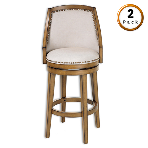 Fashion Bed Group Charleston Wood 26 In Counter Stool With Putty