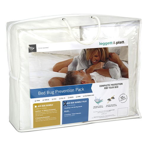 Fashion Bed Group SleepSense Twin XL Three-Piece Bed Bug Prevention Pack Plus with InvisiCase Pillow Protector and 9-Inch Bed