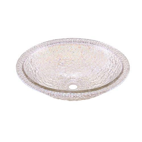 Crystal Reflections Pebble Undermount/Drop-In Combination Sink