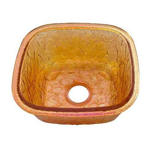 Gold Reflections Undermount Kitchen Sink