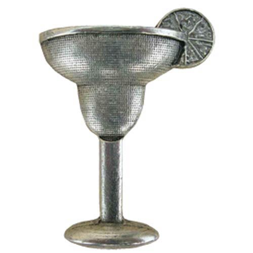 Cocktail Hour Margarita Knob - Warm Pewter
