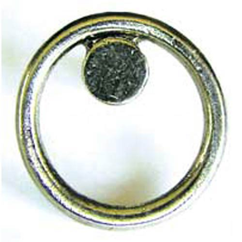 Triangle Knob - Antique Matte Brass