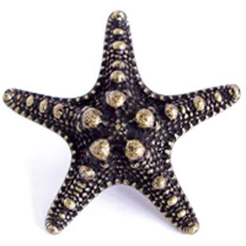 Sea Star Knob - Antique Matte Copper